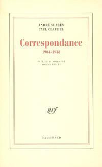 Correspondance : 1904 - 1938