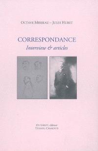 Correspondance : interview & articles