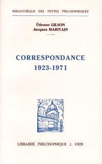 Correspondance 1923-1971 : deux approches de l'être