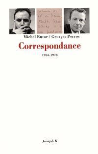 Correspondance Michel Butor-Georges Perros : 1955-1978