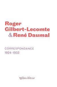 Correspondance, 1924-1933
