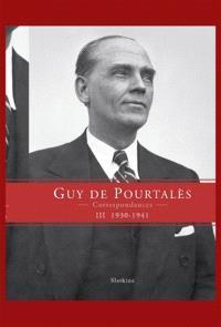 Correspondances. Volume 3, 1930-1941