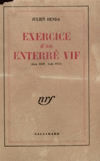 Exercice d'un enterré vif : juin 1940-août 1944