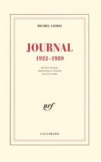 Journal : 1922-1989