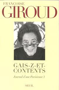 Journal d'une Parisienne. Volume 3, Gais-z-et-contents : 1996