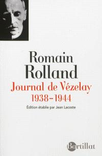 Journal de Vézelay : 1938-1944