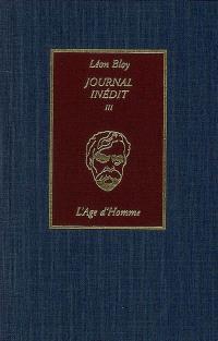 Journal inédit. Volume 3, 1903-1907