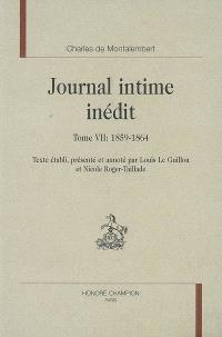 Journal intime inédit. Volume 7, 1859-1864