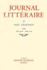 Journal littéraire. Volume 17, 1946-1949