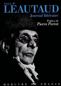 Journal littéraire : choix de pages