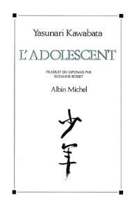 L'adolescent : récits autobiographiques