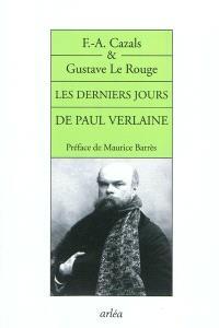Les derniers jours de Paul Verlaine