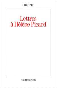 Lettres à Hélène Picard