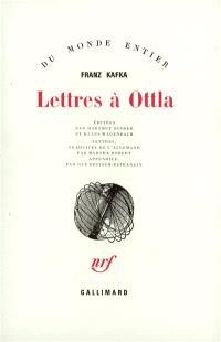 Lettres à Ottla et à la famille