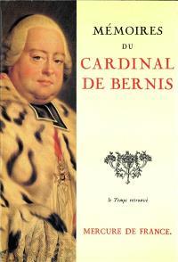 Mémoires du cardinal de Bernis