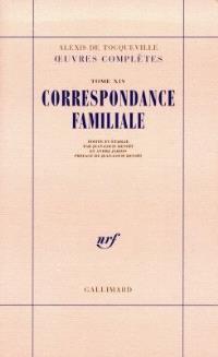 Oeuvres complètes. Volume 14-1, Correspondance familiale
