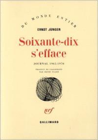 Soixante-dix s'efface. Volume 1, 1965-1970