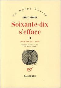 Soixante-dix s'efface. Volume 2, 1971-1980