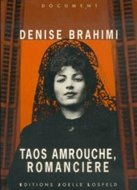 Taos Amrouche, romancière
