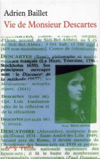 Vie de monsieur Descartes