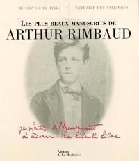 Les plus beaux manuscrits d'Arthur Rimbaud
