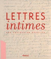 Lettres intimes : une collection dévoilée