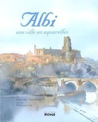 Albi : une ville en aquarelles
