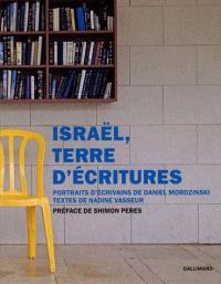 Israël, terre d'écritures : portraits d'écrivains
