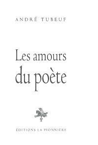 Les amours du poète