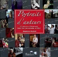 Portraits d'auteurs : 40 auteurs s'incarnent dans leur personnage préféré