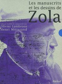 Les manuscrits et les dessins de Zola : notes préparatoires et dessins des Rougon-Macquart