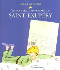 Les plus beaux manuscrits de Saint Exupéry