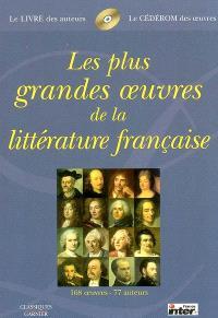 Les plus grandes oeuvres de la littérature française