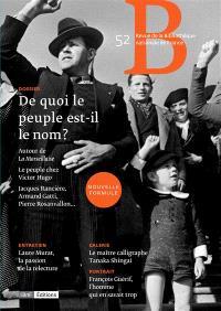 Revue de la Bibliothèque nationale de France. n° 52, De quoi le peuple est-il le nom ?