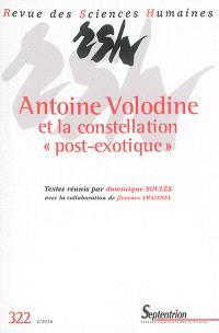 Revue des sciences humaines. n° 322, Antoine Volodine et la constellation post-exotique