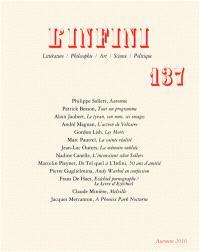 Infini (L'). n° 137