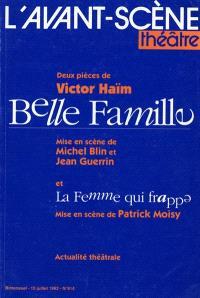 Avant-scène théâtre (L'). n° 914, Belle famille; La femme qui frappe