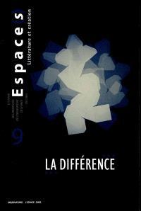 Espace(s). n° 9, La différence