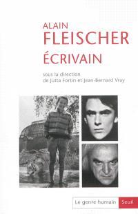 Genre humain (Le). n° 54, Alain Fleischer, écrivain