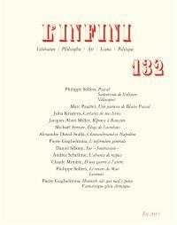Infini (L'). n° 132