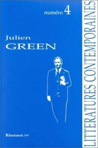 Littératures contemporaines. n° 4, Julien Green