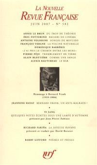 Nouvelle revue française. n° 582