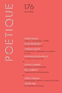 Poétique. n° 176