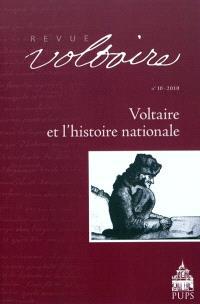 Revue Voltaire. n° 10, Voltaire et l'histoire nationale