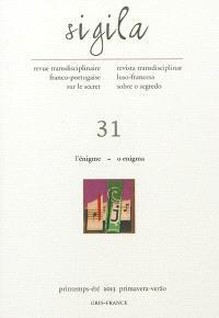 Sigila. n° 31, L'énigme = O enigma