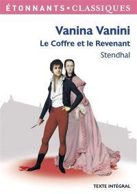 Vanina Vanini; Le coffre et le revenant
