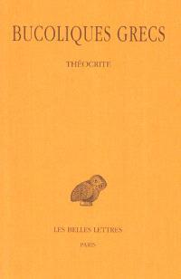 Bucoliques grecs. Volume 1, Théocrite