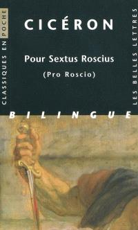 Pour Sextus Roscius = Pro Roscio