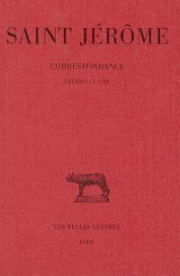 Correspondance. Volume 6, Lettres 110-120
