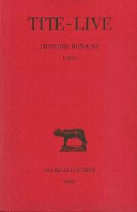 Histoire romaine. Volume 1, Livre I